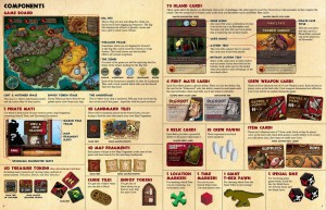 Pirates vs. Dinosaur rules - a list that doesn't look like a list.