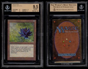 Mint Magic Black Lotus Alpha card sold for $27k