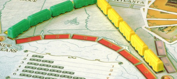 Ticket to Ride is excellent at generating tension