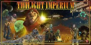 Twilight Imperium, 3rd edition box cover
