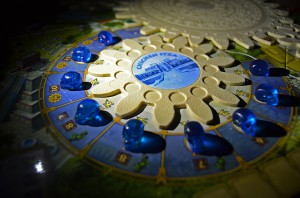 Planning your strategy in Tzolk'in creates tension thorugh overload