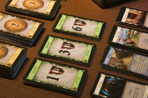 Dominion tabletop game components