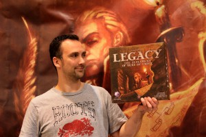 Michiel Justin Elliott Hendriks with Legacy