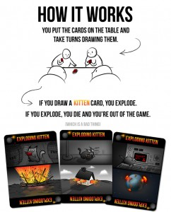 Exploding Kittens gameplay overview