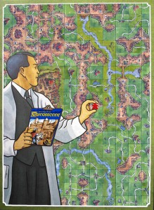 Power Grid/Carcassonne smashup image
