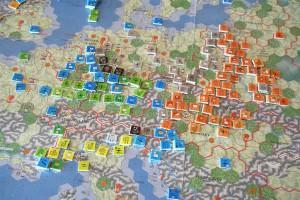 World in Flames, European Theatre