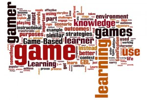 Gamification Word Cloud