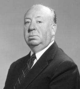 Studio publicity photo of Alfred Hitchcock./Wikipedia