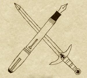 Pen and Sword crossed