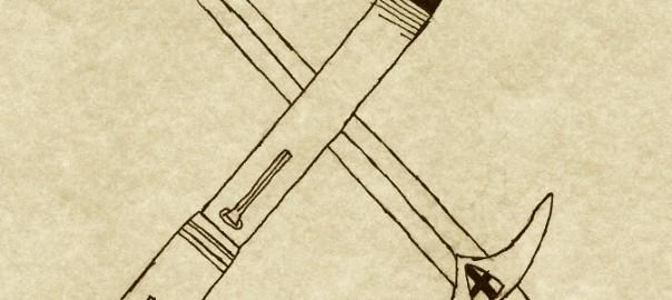 Pen and Sword crossed