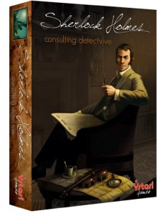 Sherlock Holmes consulting detective box cover