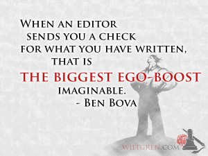 The greatest ego boost quote
