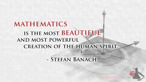 Beauty of Mathematics quote
