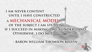Model Thomas Kelvin quote