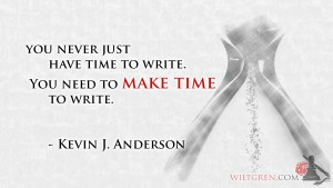 Make time to write quote