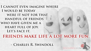 Friends make life fun quote