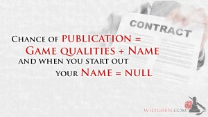 Chance of publication quote