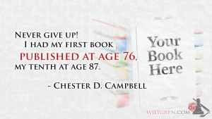 Published at age 76 Chester Campbell quote