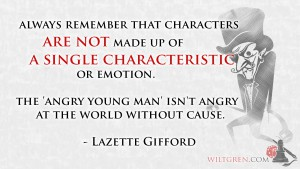 Characters are more than a single characteristic quote