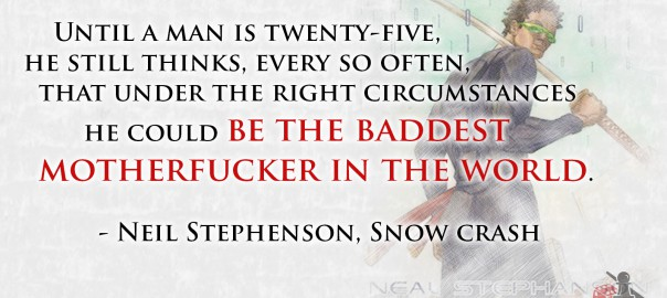 Neil Stephenson quote