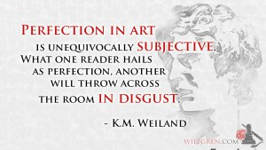 Perfection in Art quote