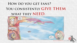 Create fans quote