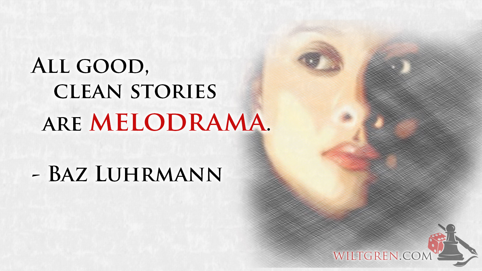 Melodrama If you are not with me: actors, roles, short story