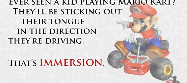 Immersion quote