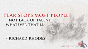 Fear quote Richard Rhodes