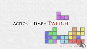Action + Time = Twitch quote