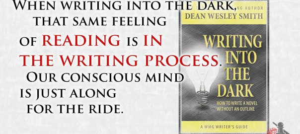 Feeling of reading, Dean Wesley Smith quote