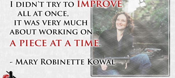 Mary Robinette Kowal quote