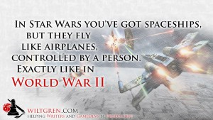 Star Wars is World War II