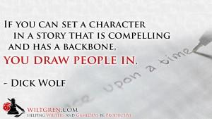 Plot - Dick Wolf quote