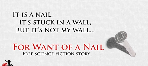 For Want of a Nail - short story