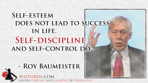 Self-Discipline - Roy Baumeister quote