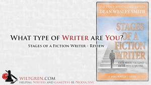 Stages of a Fiction Writer