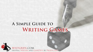 Writing Games