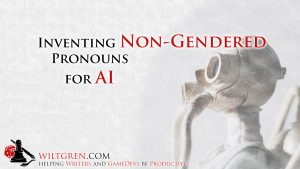 Inventing Pronouns for AI