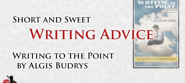 Writing to the Point by Algis Budrys - Review